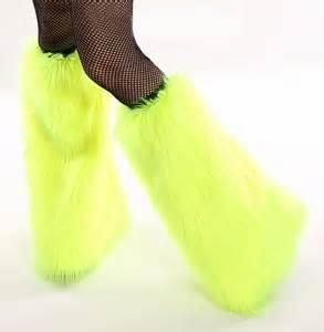 UV Neon Yellow Rave Fluffies