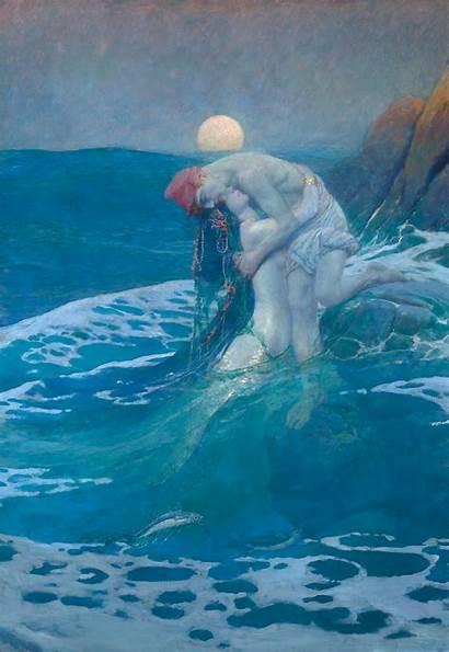 Pyle Howard Illustrations Mermaid Illustration Artists Museum