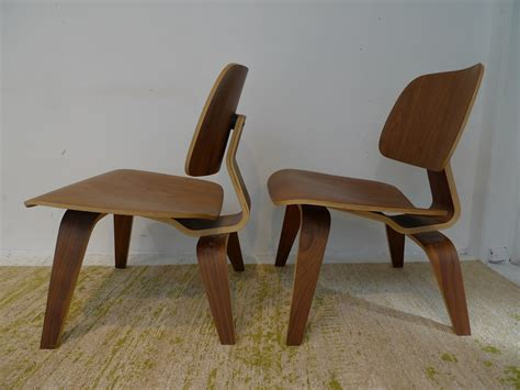eames style bent plywood chair pair shophousingworks