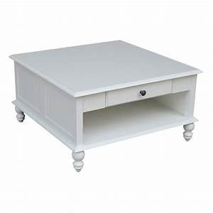 international concepts cottage square coffee table in With coastal square coffee table