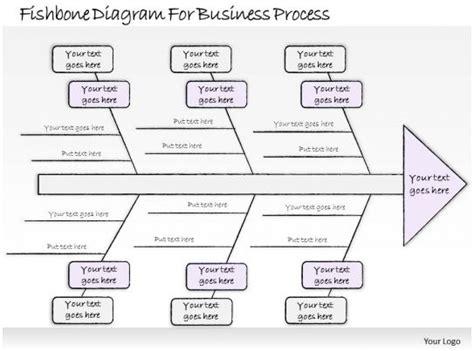 business  diagram fishbone diagram  business