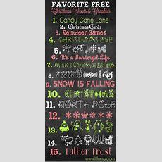 Free Christmas Prints