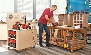 Werkbank Selber Bauen : mobile werkbank selber bauen ~ Frokenaadalensverden.com Haus und Dekorationen