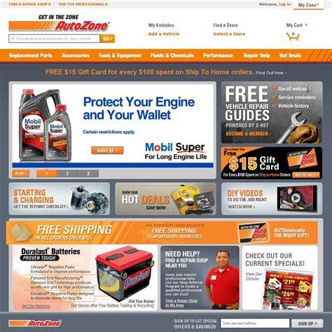 Check Out The Autozone Website Deals On Car Parts, Auto
