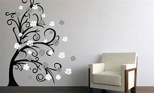 black wall decals 2017 grasscloth wallpaper With black wall decals