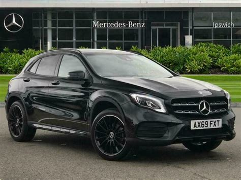 Discover the sleek and sporty gla suv. 2020 Mercedes-Benz GLA Class GLA 200 AMG Line Edition Plus 5dr Auto Petrol black | in Ipswich ...
