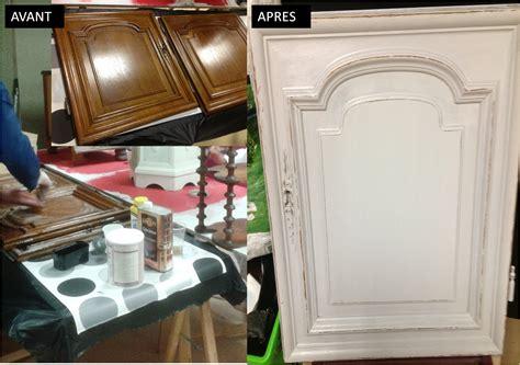 peinture sur meuble de cuisine peinture sur meuble portes de cuisine vernis chêne foncé