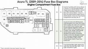 Acura Tl  2009 2014  Fuse Box Diagrams