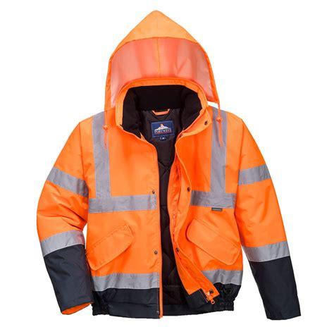 Portwest S266 - Hi-Vis divu toņu jaka - Augstas redzamības ...