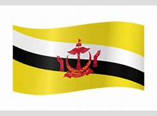 Brunei flag vector country flags