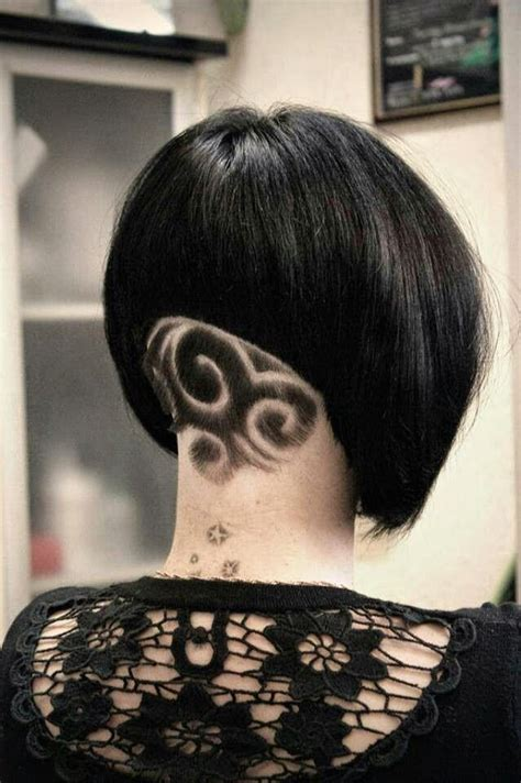 impressive hair tattoos  girls  haircut web