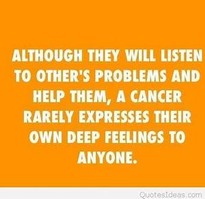 Cancer zodiac q... Cancer Star Sign Quotes