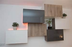 Ikea Petit Meuble : meuble tv mural ikea maison design ~ Premium-room.com Idées de Décoration