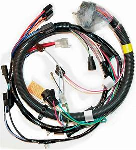 1981 Corvette Wiring Harness  Engine  U0026 A  C  Manual