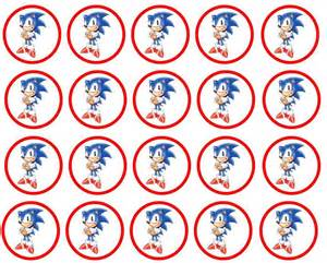 sonic the hedgehog cake toppers 7 best images of sonic birthday printables sonic the
