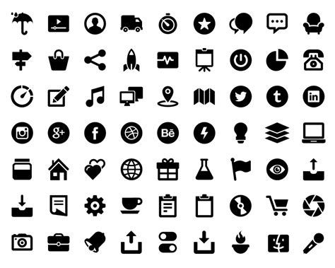 glypho free icons 900 bold vector glyph icons for