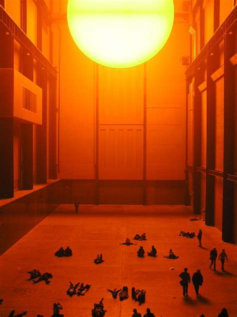 Olafur Eliasson Sun by Olafur Eliasson Tate Modern Nummynims