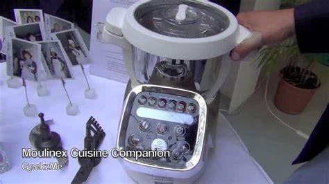 cuisine companion moulinex moulinex cuisine companion présentation fr