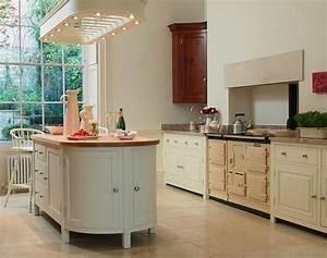 White Freestanding Kitchens • Oak Free Standing Kitchens