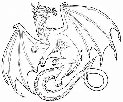 Dragon Drawings Drawing Realistic Flying Sketch Sketches