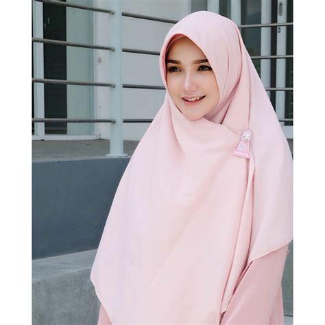hijab segi empat jumbo wolfis    cm jilbab