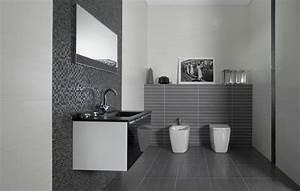 Carrelage Salle De Bain Blanc : carrelage sol et mural de salle de bain d h tel concret ~ Melissatoandfro.com Idées de Décoration