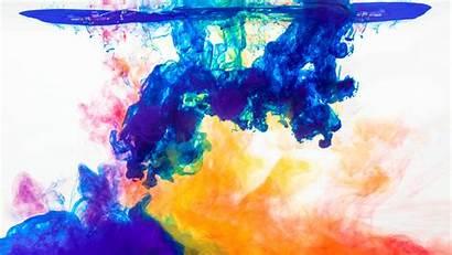 Water 4k Desktop Wallpapers Colorful Paint Chromebook
