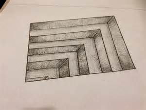 3D Pencil Drawings Step by Step