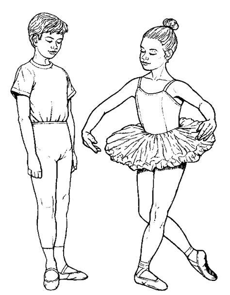 Ballet Kleurplaat by Sport Kleurplaat Ballet Jongen Meisje