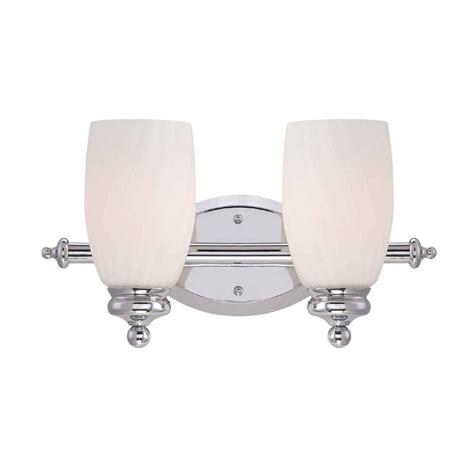 hton bay vanity light hton bay 2 light chrome bath bar light with frosted