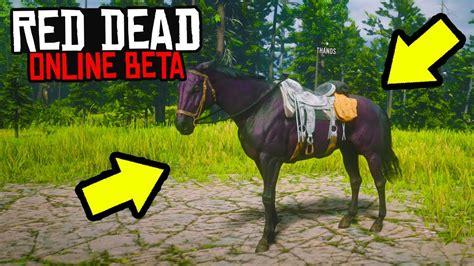 horse dead redemption rdr2