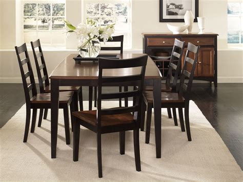espresso dining room set bristol point 78 quot oak espresso extendable rectangular