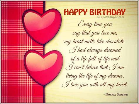 boyfriend happy birthday quotes birthday wishes quotes