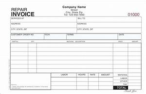 hvac invoice sample europcarsclub With small engine repair invoice template