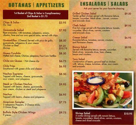 el tapatio menu menu for el tapatio lakewood denver
