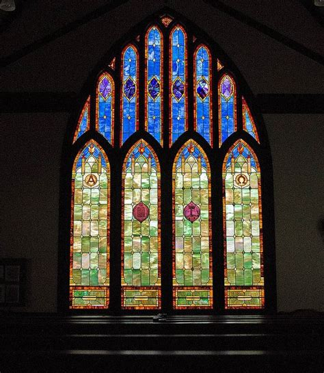 Book Stained Glass Windows