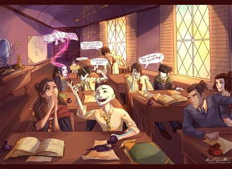 avatarded hogwarts  viria  deviantart