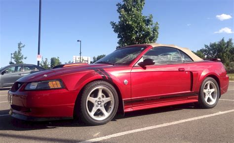 redfire red  ford mustang gt convertible
