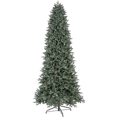 ge 9 ft led indoor just cut deluxe aspen fir artificial