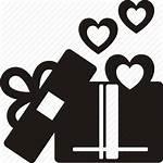 Icon Gift Birthday Box Surprise Christmas Icons