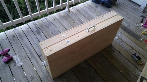 diy  easy steps    folding beer pong table