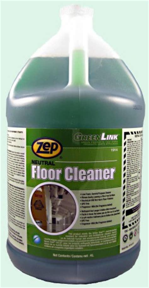 Zep Bathroom Cleaner Msds by Green Link Neutral Floor Cleaner Soap Stop