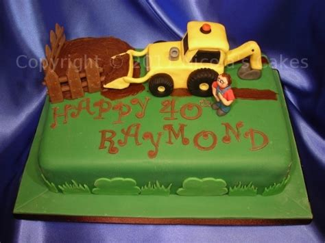 Digger Cake Template Digger Cake Toppers Cake Ideas And Designs