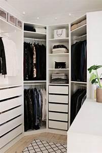 Ikea Pax Kleiderschrank Planen : 20 dreamy walk in closet ideas from luxe with love ~ Watch28wear.com Haus und Dekorationen