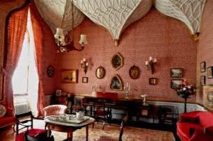 castle ward interior gothic sitting  suzanne