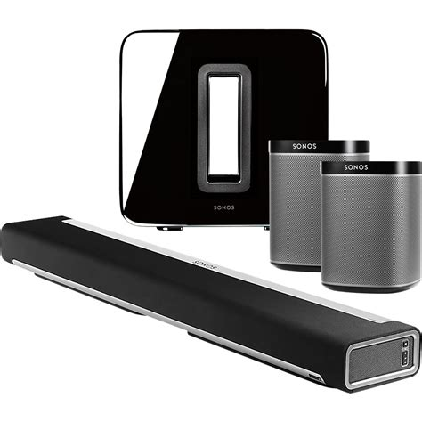 sonos  play speakers playbar  package ebay