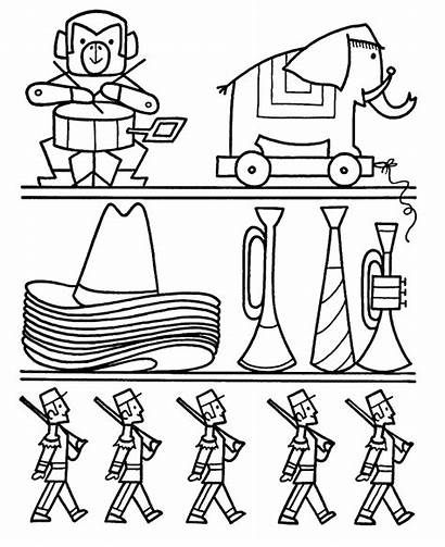 Coloring Toys Pages Christmas Shopping Toy Shelves