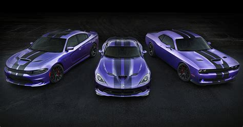 Charger Hellcat Or Challenger Hellcat by Dodge Lets Plum Live On And The Hellcat Gets New Stripes