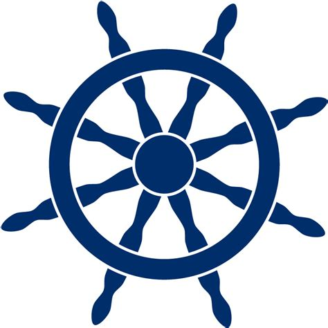 Boat Steering Wheel Clipart Free by Ship Steering Wheel Helm Sea Wall Stickers Wall Decal