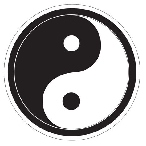yin yang sticker sold at europosters